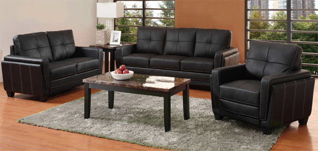 9113 Leather Living Room Collection