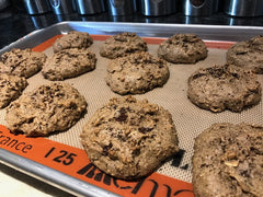 Gluten Free Almond Butter-Coffee Breakfast Cookies (time to bake)