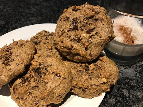 Amazing glutenfree cookies prepared with minimal grains or sugars