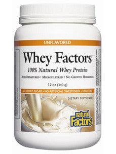 Whey Factors Unflavored Powder