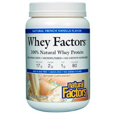 Whey Factors Powder Mix Vanilla