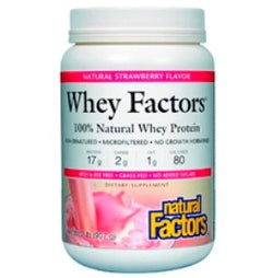 Whey Factors Powder Mix Strawberry