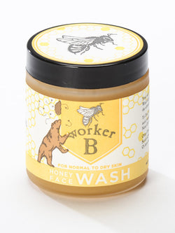 worker B - Raw Honey Face Wash: Dry/Normal Skin