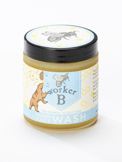 worker B - Raw Honey Face Wash: Oily/Normal Skin