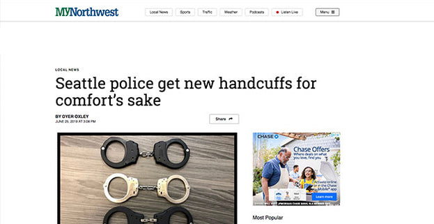 Seattle Police Switch to ASP Ultra Cuffs