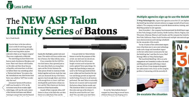 Officer.com: Product Review: The ASP Talon Infinity Baton