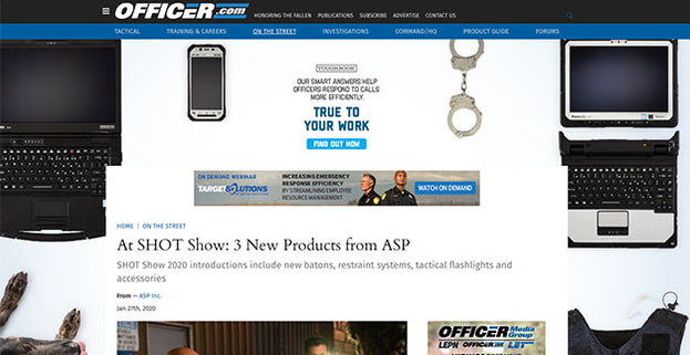 Officer.com: At SHOT Show: 3 New Products from ASP