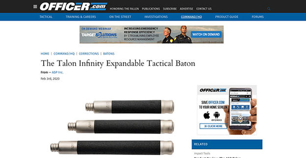 Officer.com: The Talon Infinity Expandable Tactical Baton