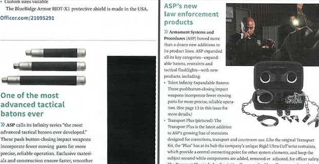 LEPN: One of the most advanced tactical batons ever/ ASP's new law enforcement products