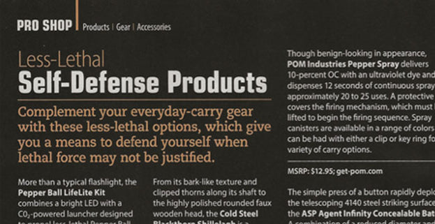 Shooting Illustrated: ASP Agent Infinity Concealable Baton