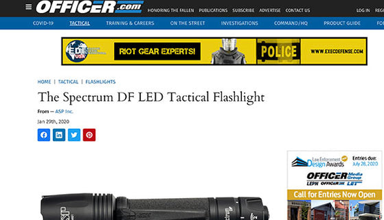 Officer.com: The Spectrum DF LED Tactical Flashlight