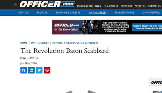 Officer.com: The Revolution Baton Scabbard