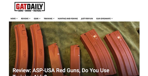 GatDaily: Review: ASP-USA Red Guns, Do You Use Training Aids?