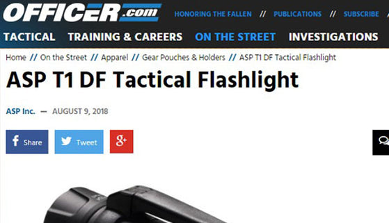 Officer.com: ASP T1 DF Tactical Flashlight