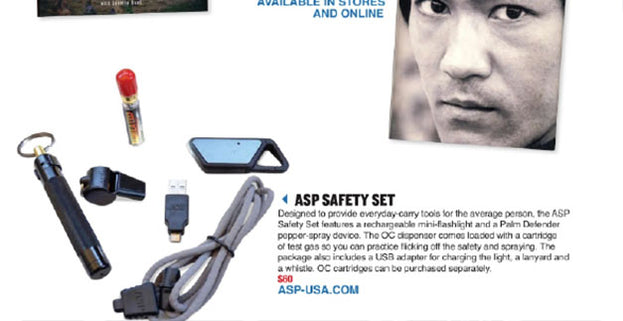 Black Belt: ASP Safety Set