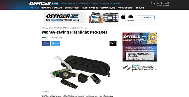 Officer.com: Money - saving Flashlight Packages