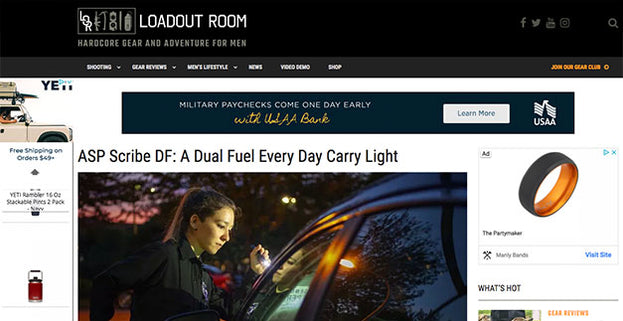 Loadout Room: ASP Scribe DF: A Dual Fuel Every Day Carry Light