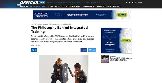 Officer.com: The Philosophy Behind Integrated Training