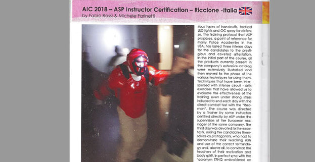 Kung Fu Magazine: ASP Instructor Certification