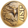 ASP Logo of Eagle on gold coin