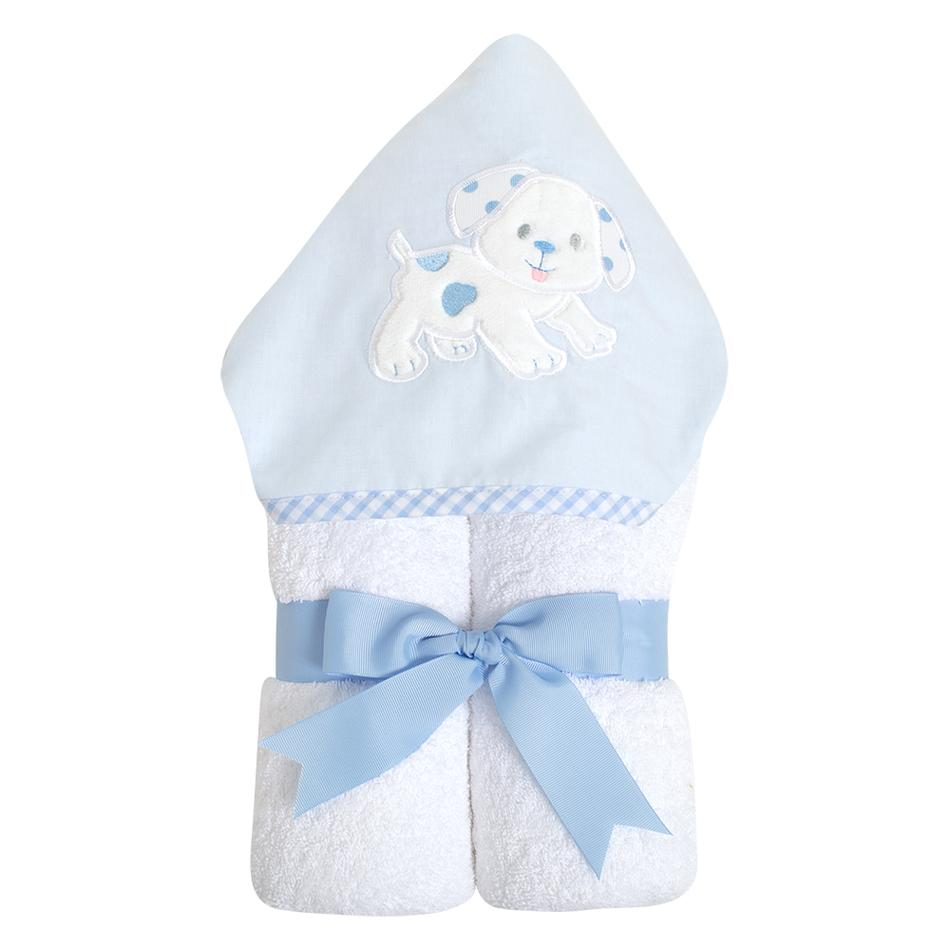 Blue Puppy Everykid Towel