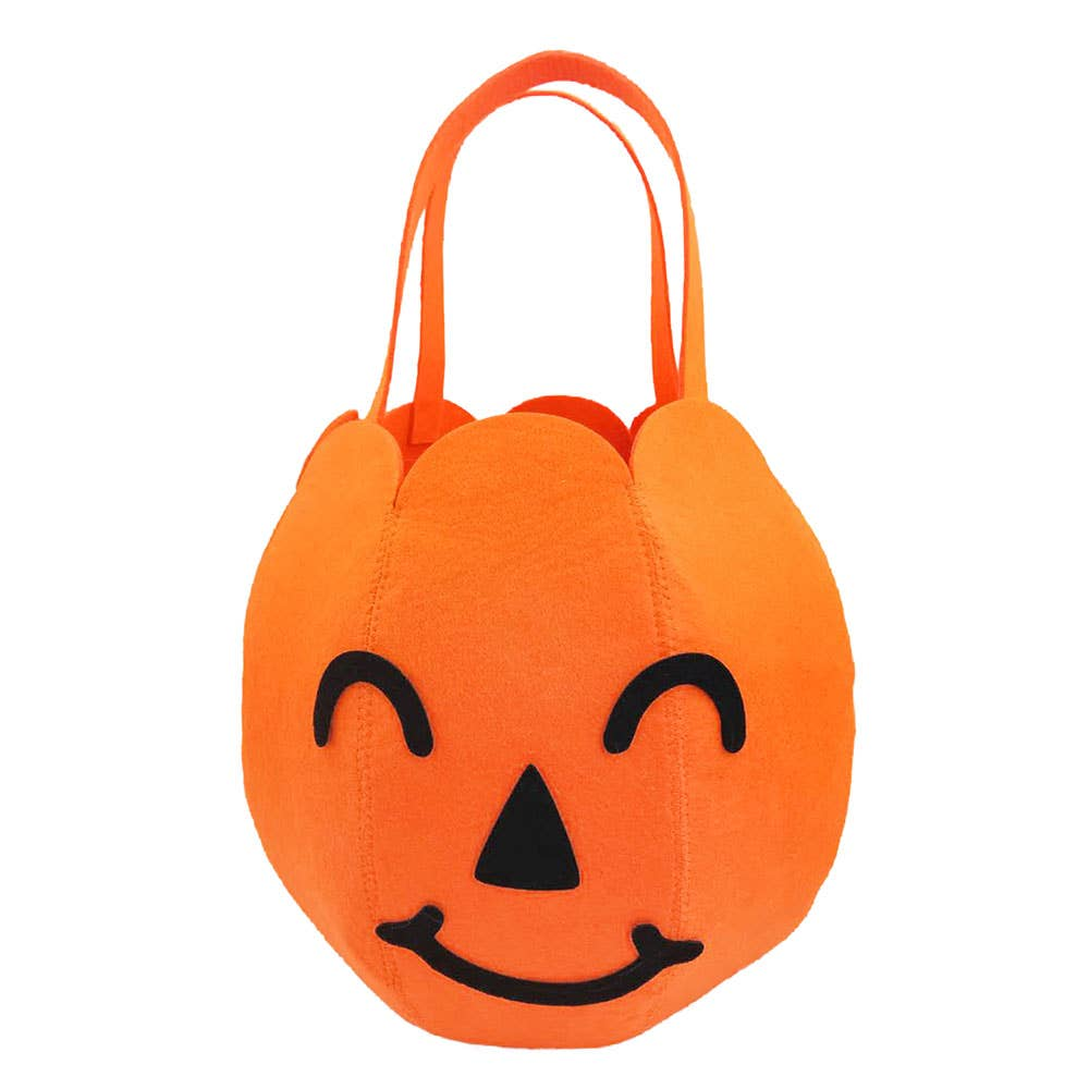Paper Source Pumpkin Halloween Bag