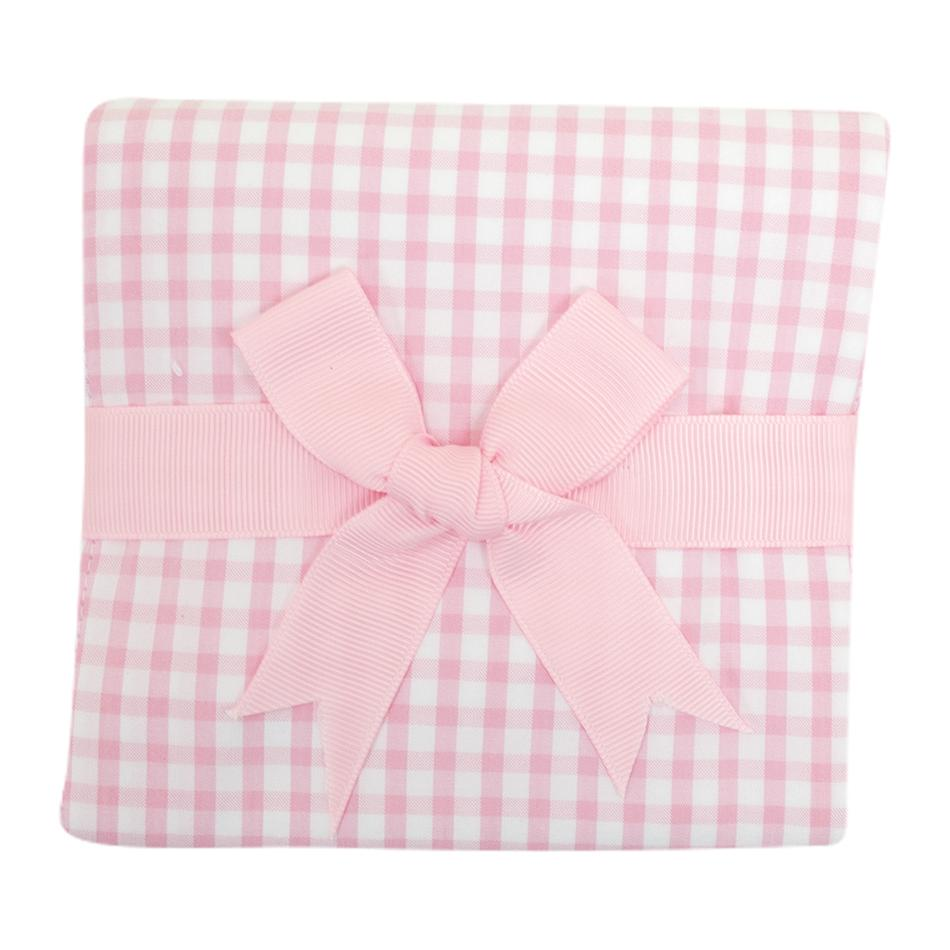 3 Marthas Pink Burp Cloth
