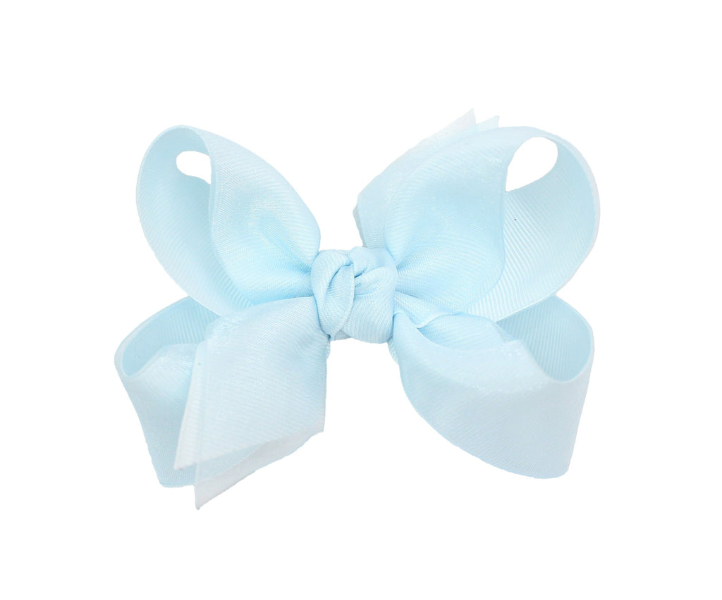 Grosgrain and Organza Layerd Bow