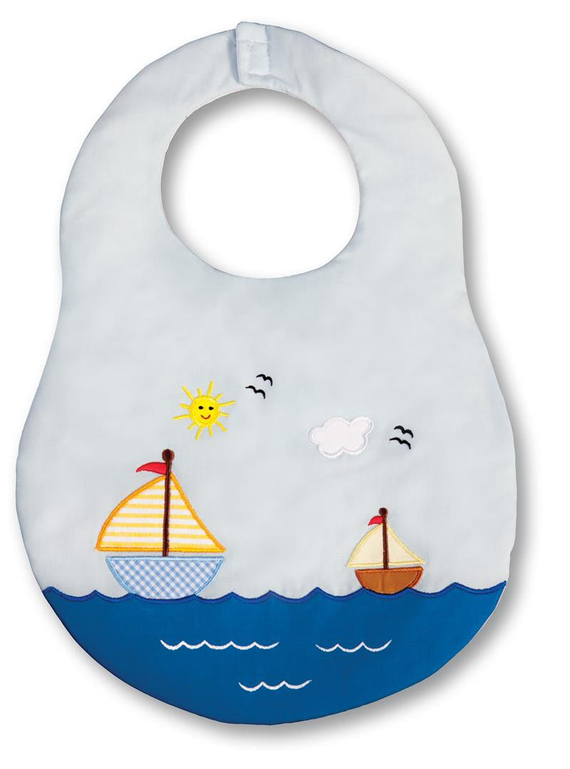 Sailboat Bib