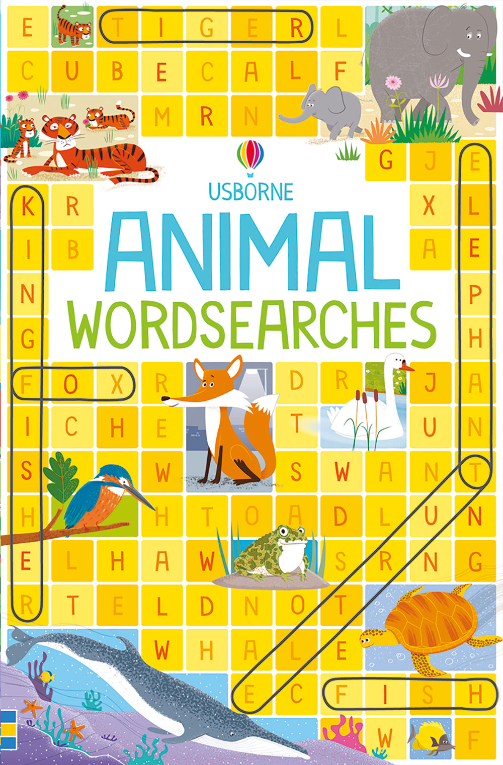 Usborne Books Animal Wordsearch
