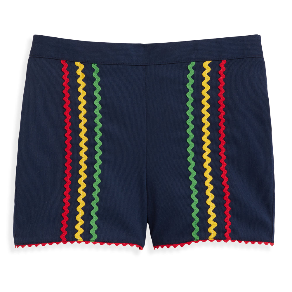 Ric Rac Brinkley Short - Navy