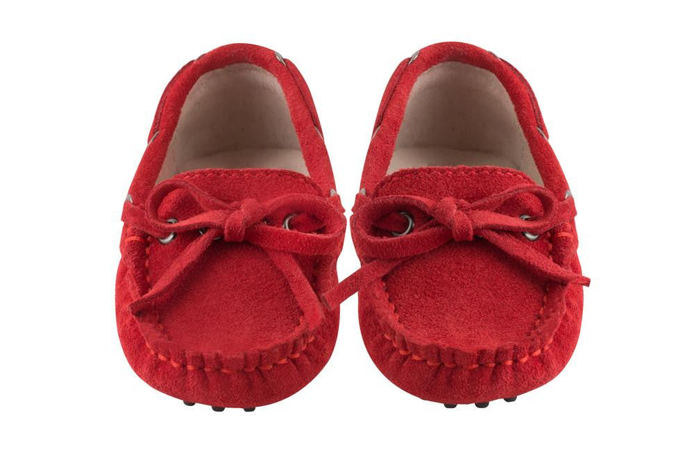 Red Capri Loafers