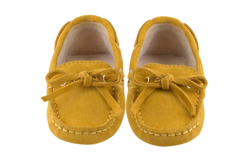 Yellow Capri Loafers