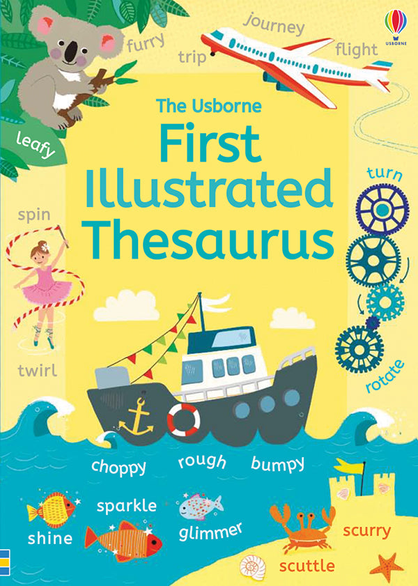 Usborne First Illustrated kids Thesaurus