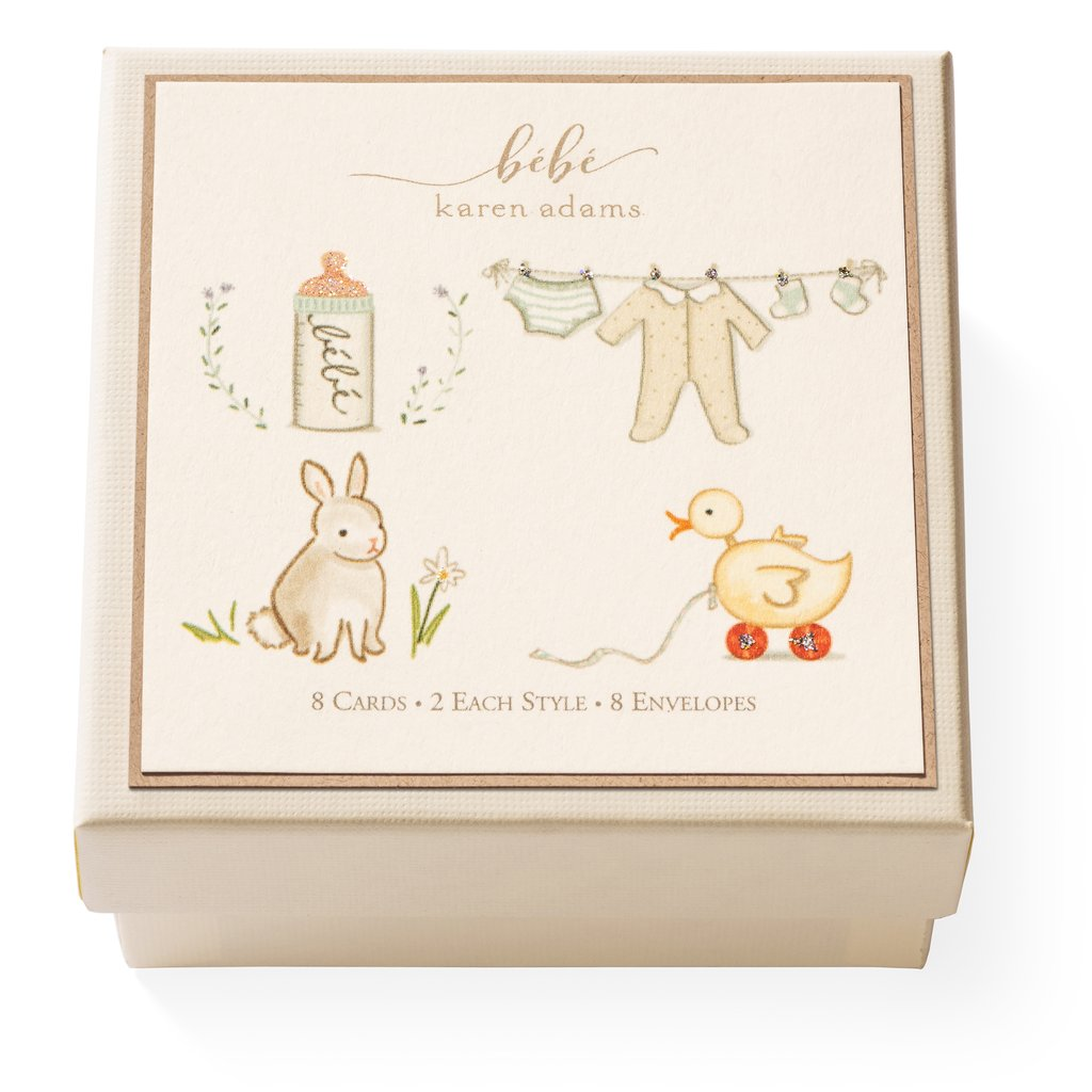 Karen Adams Bebe Gift Enclosure Gift Cards