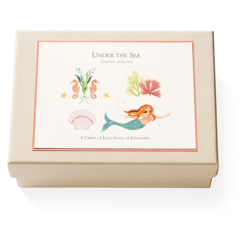 Under the Sea Karen Adams Note Cards