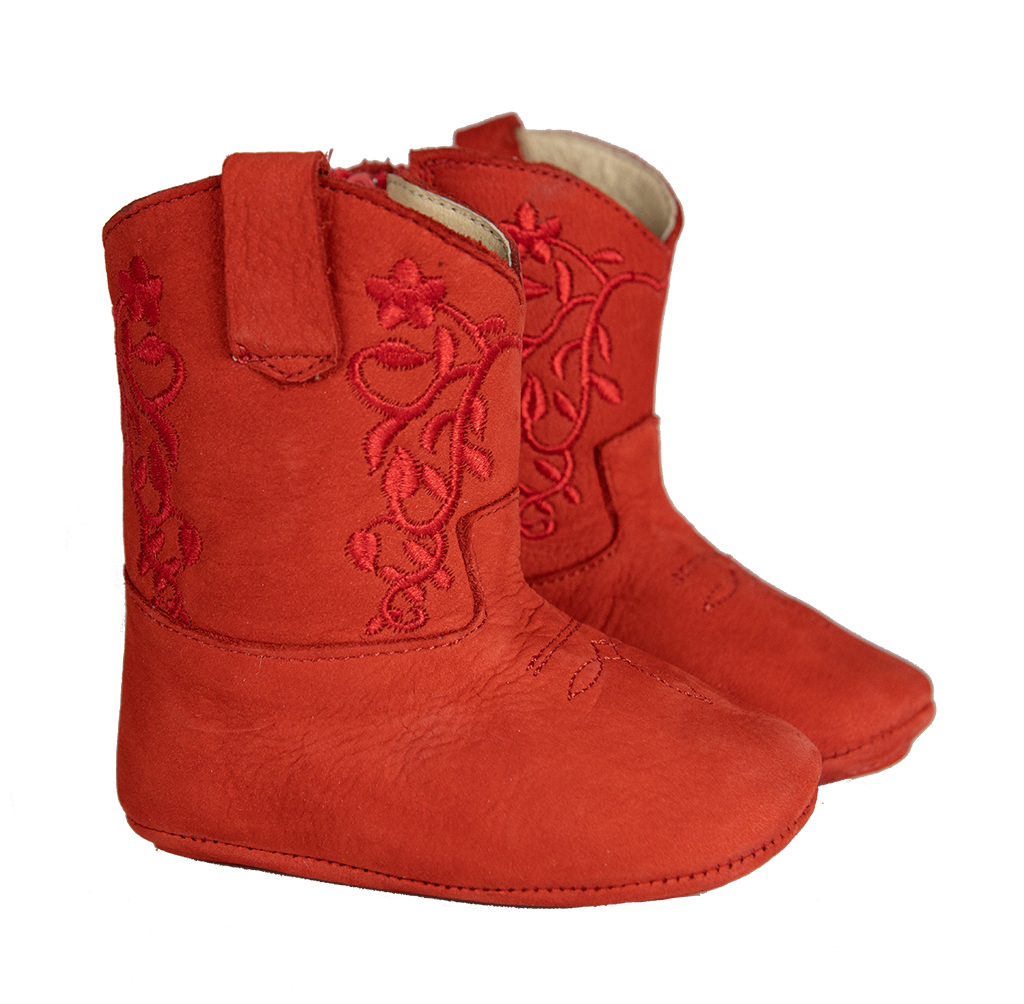 Nomandino Cowgirl Boots Baby Red
