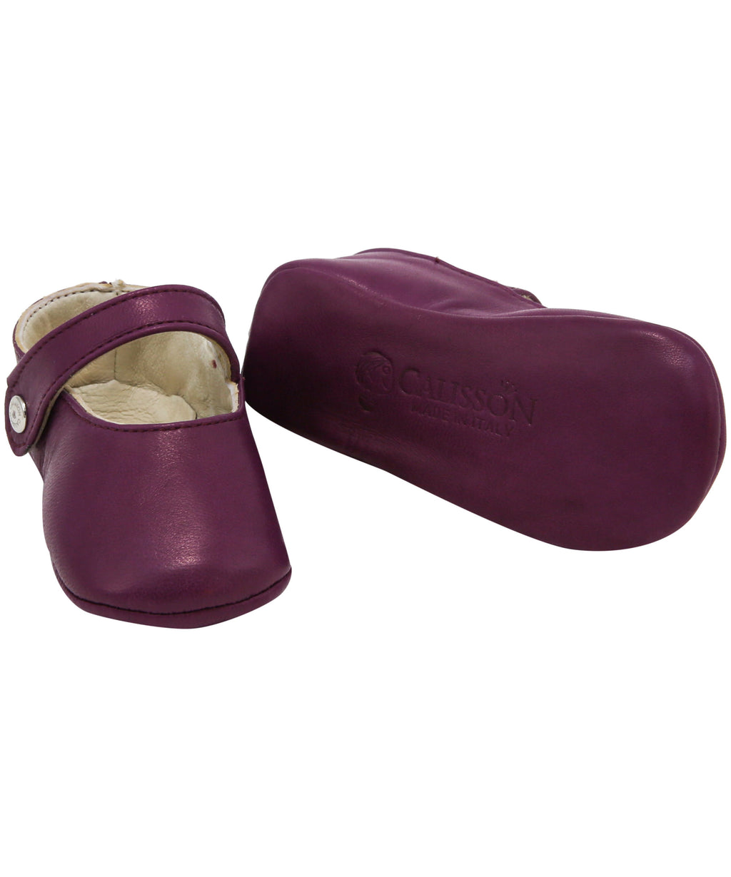 Mauve Matilde Leather Shoes