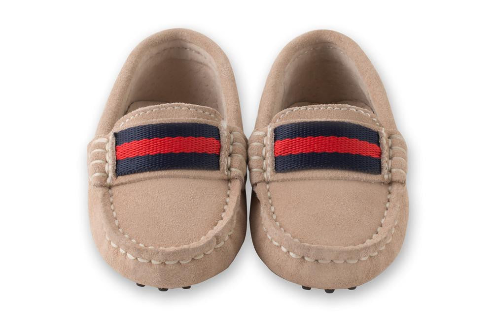 Beige Milan Loafers