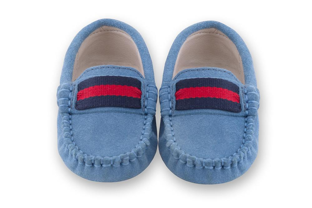 Blue Suede Shoes for Boys