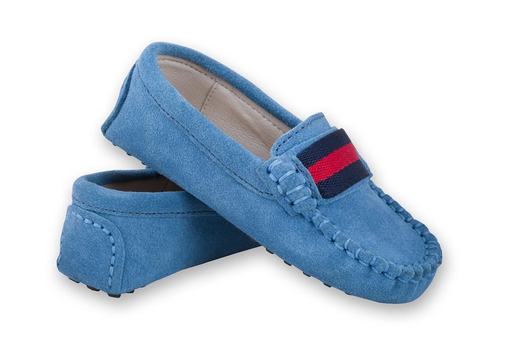 Milan Mid Blue Loafers