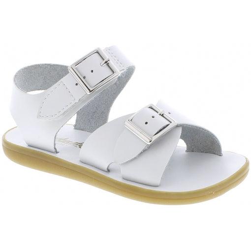 White Footmates Boys Sandals