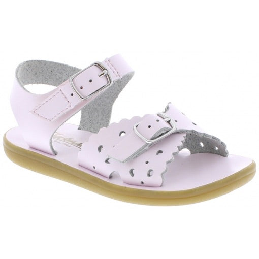 pink baby sandal Footmates girls