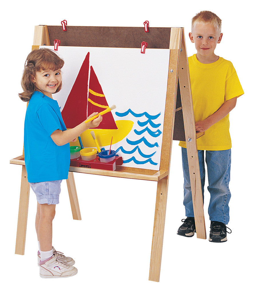 DOUBLE SIDED ADJUSTABLE EASEL
