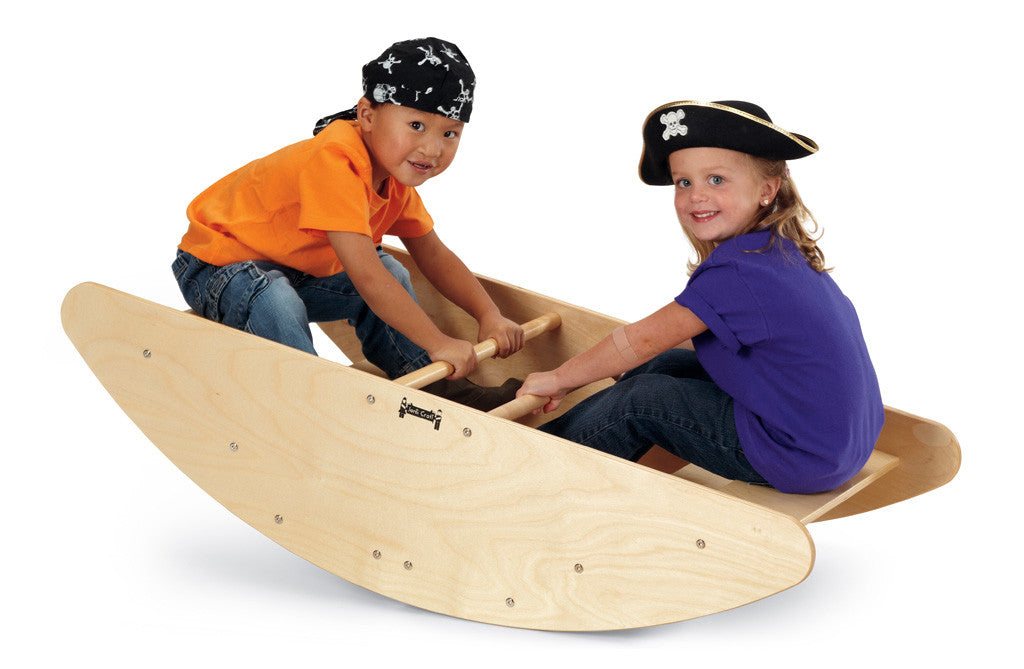 STEP ROCKING BOAT