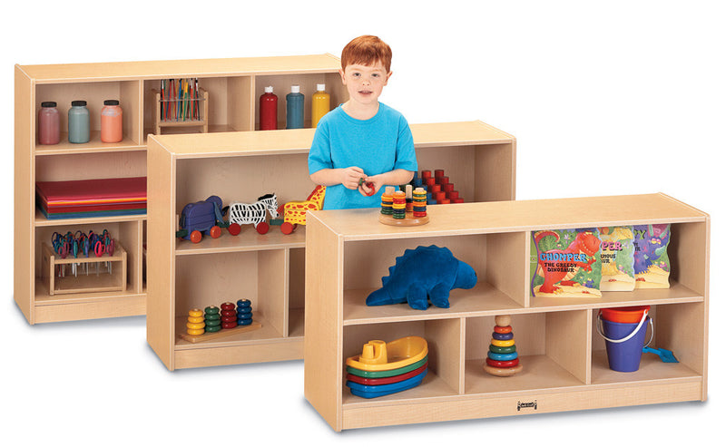 LOW SINGLE Storage Shelving Unit
