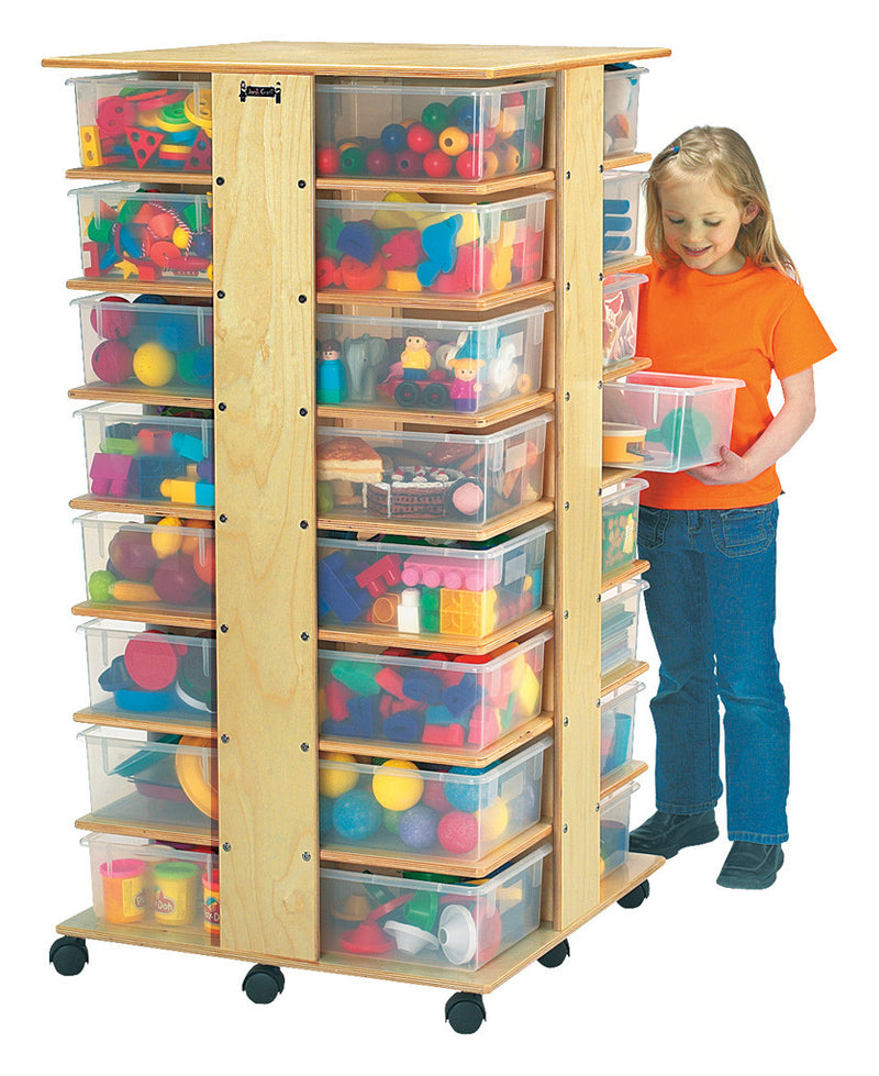 Jonti-Craft® 32 Tub Tower - with Clear Tubs