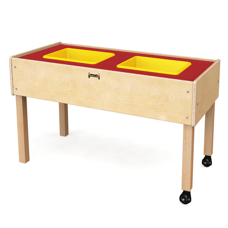 Two tub sensory table