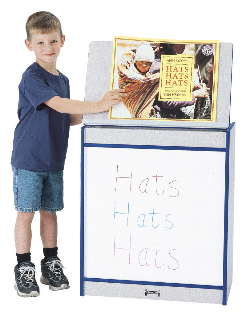 Rainbow Accents® Big Book Easel - Write-n-Wipe