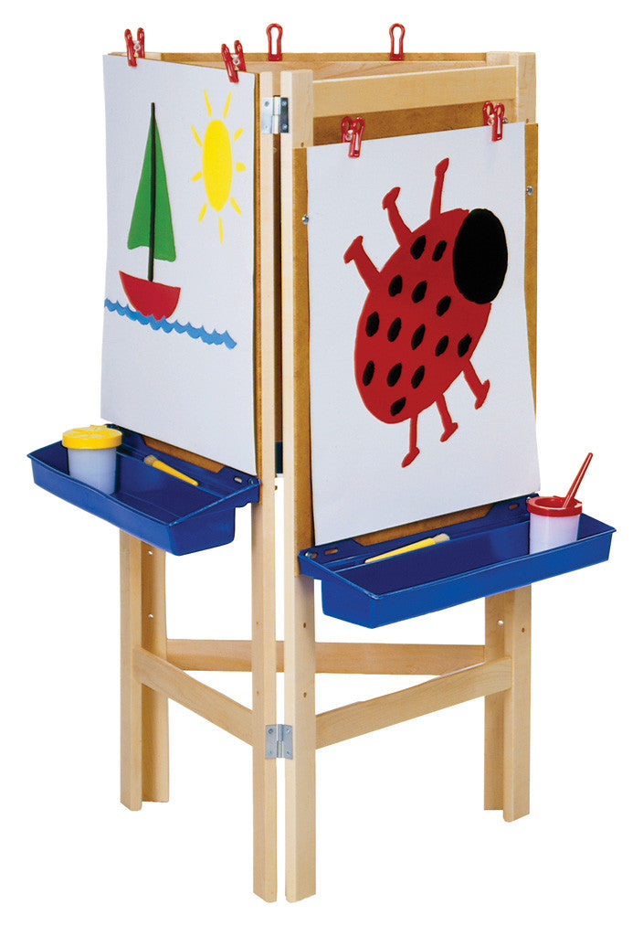 3 WAY ADJUSTABLE EASEL by Jonti-Craft